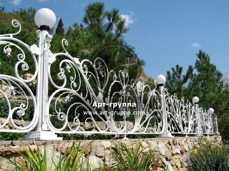 купить Забор кованый - изделие: 0748