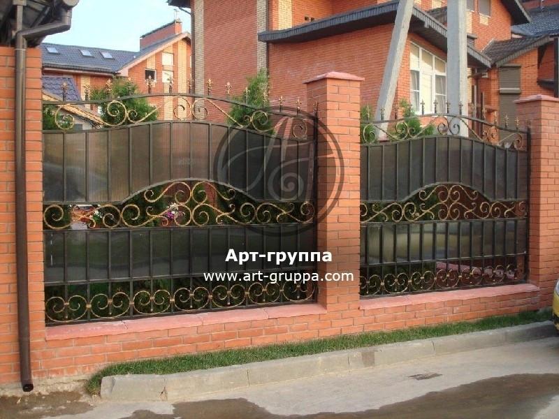 купить Забор кованый - изделие: 0749