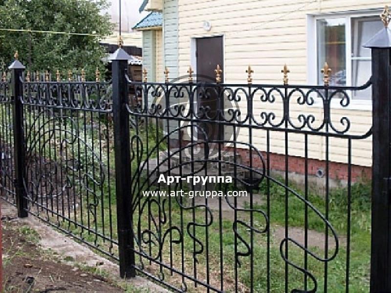 купить Забор кованый - изделие: 0750