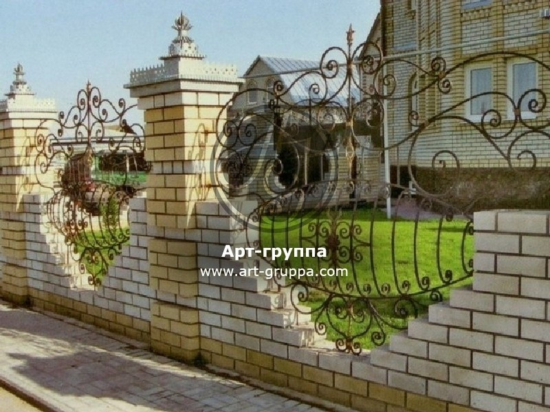 купить Забор кованый - изделие: 0752