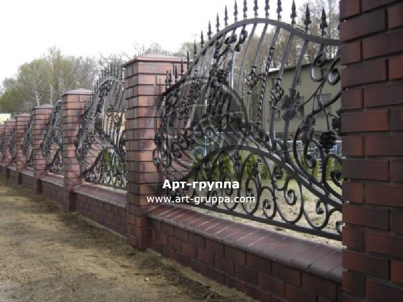 купить Забор кованый - изделие: 0757