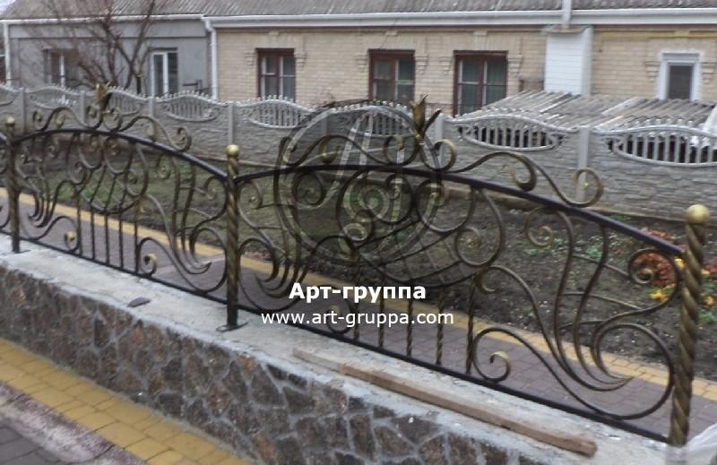 купить Забор кованый - изделие: 0759
