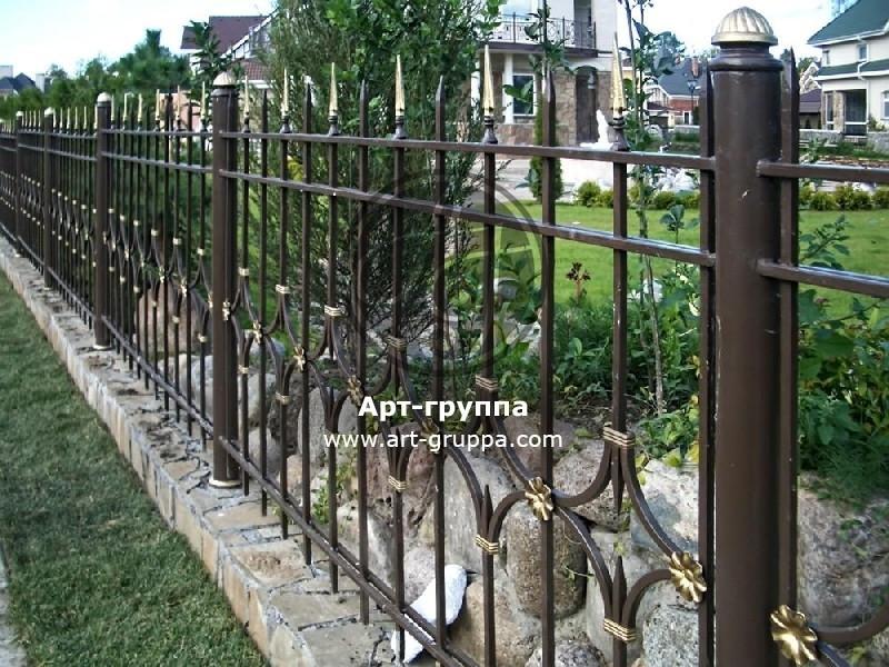 купить Забор кованый - изделие: 0760