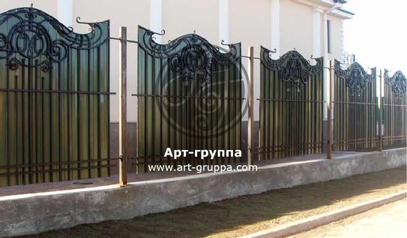 купить Забор кованый - изделие: 0761