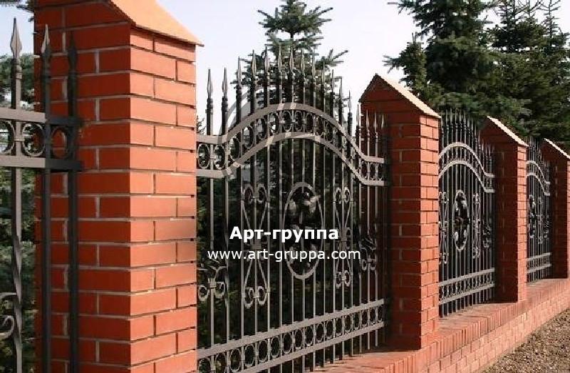купить Забор кованый - изделие: 0763