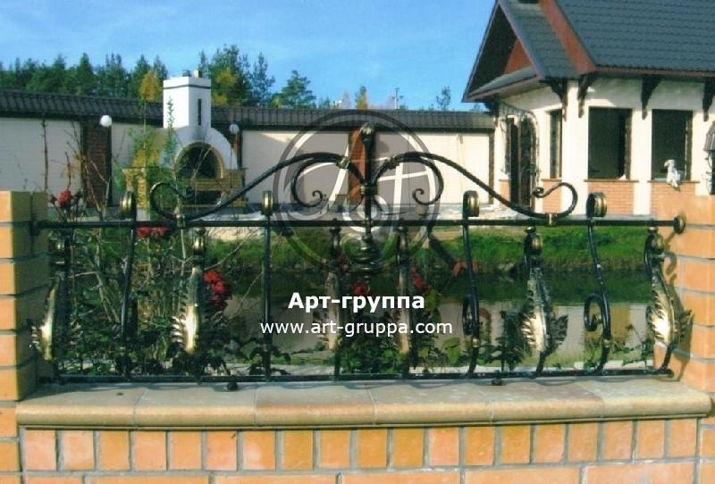 купить Забор кованый - изделие: 0766