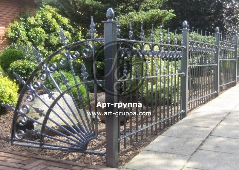 купить Забор кованый - изделие: 0767