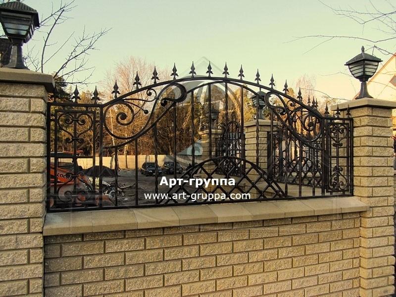 купить Забор кованый - изделие: 0771