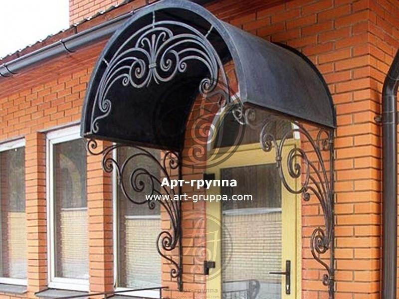 купить Козырек кованый - изделие: 0866