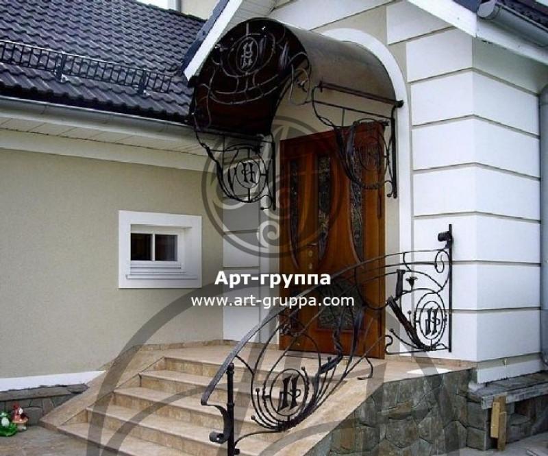 купить Козырек кованый - изделие: 0867