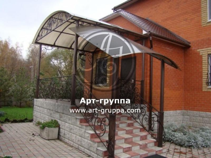 купить Козырек кованый - изделие: 0880