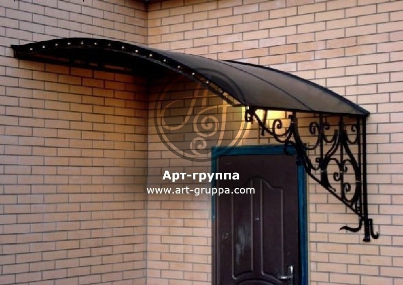 купить Козырек кованый - изделие: 0909