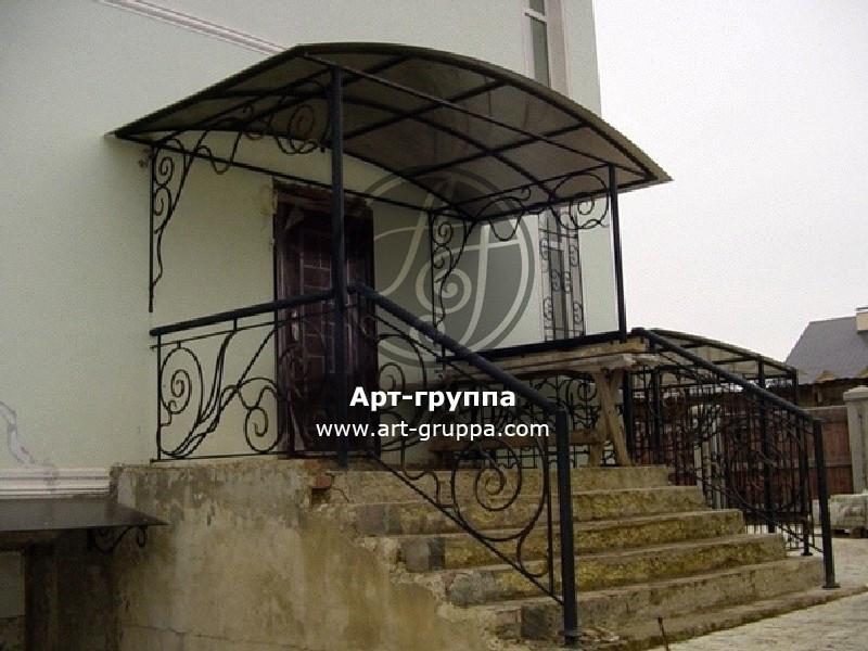 купить Козырек кованый - изделие: 0914