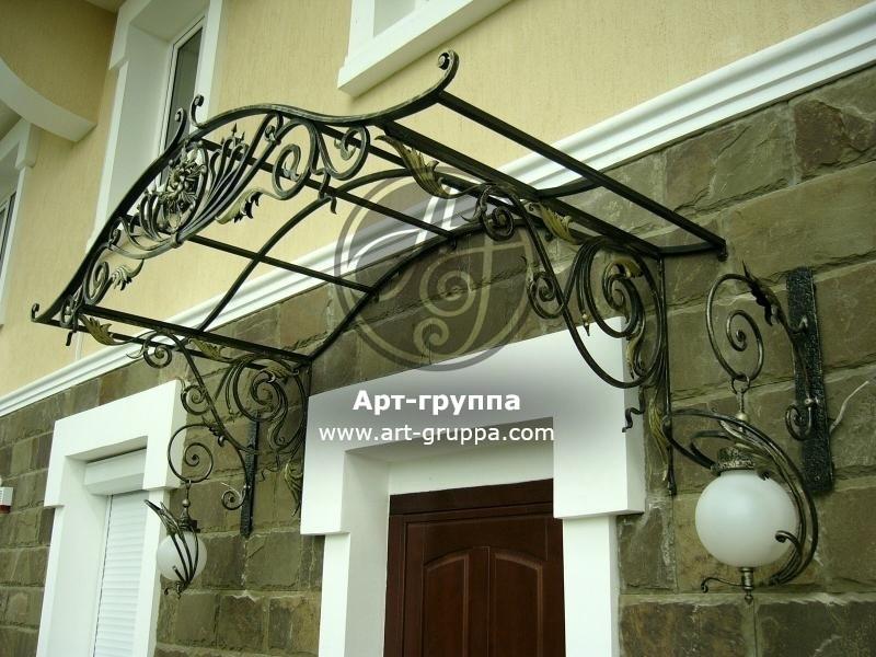 купить Козырек кованый - изделие: 0931