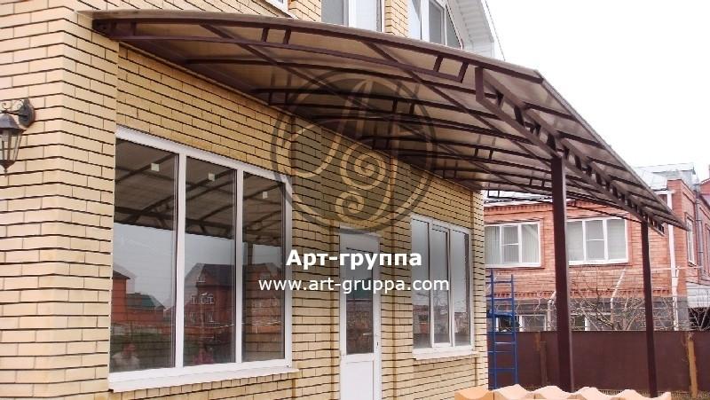 купить Козырек кованый - изделие: 0933