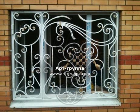купить Решетка на окно - изделие: 0782