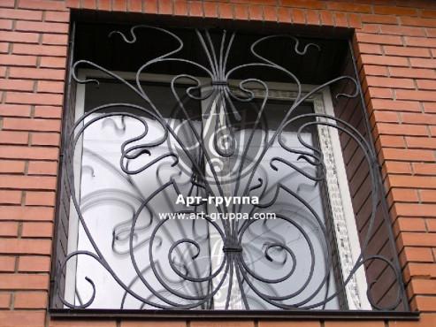 купить Решетка на окно - изделие: 0789