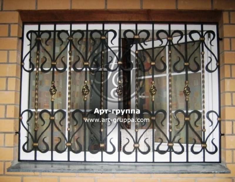 купить Решетка на окно - изделие: 0804