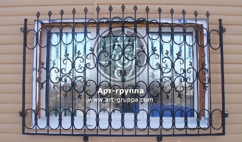 купить Решетка на окно - изделие: 0810
