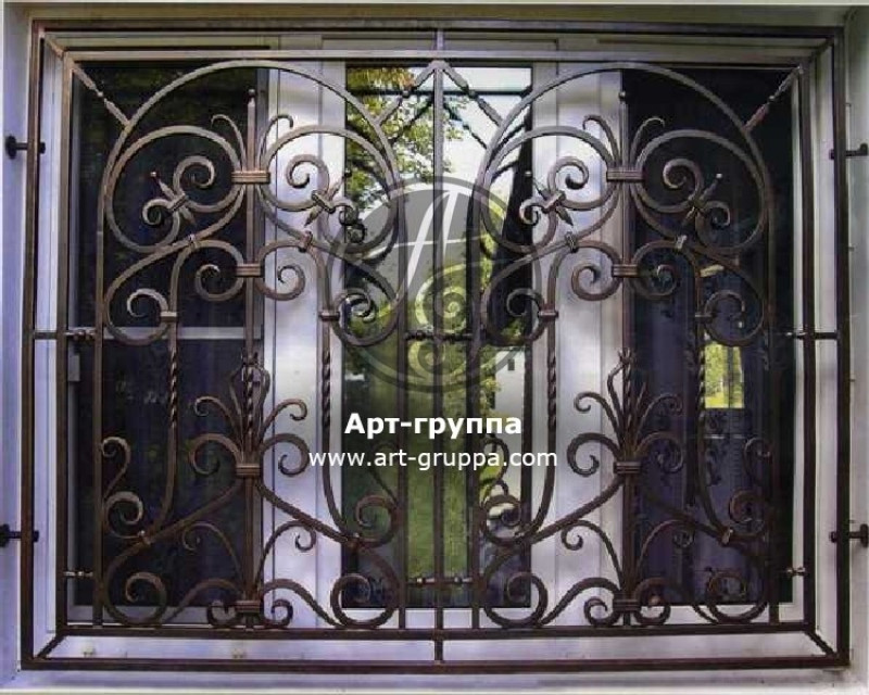 купить Решетка на окно - изделие: 0812