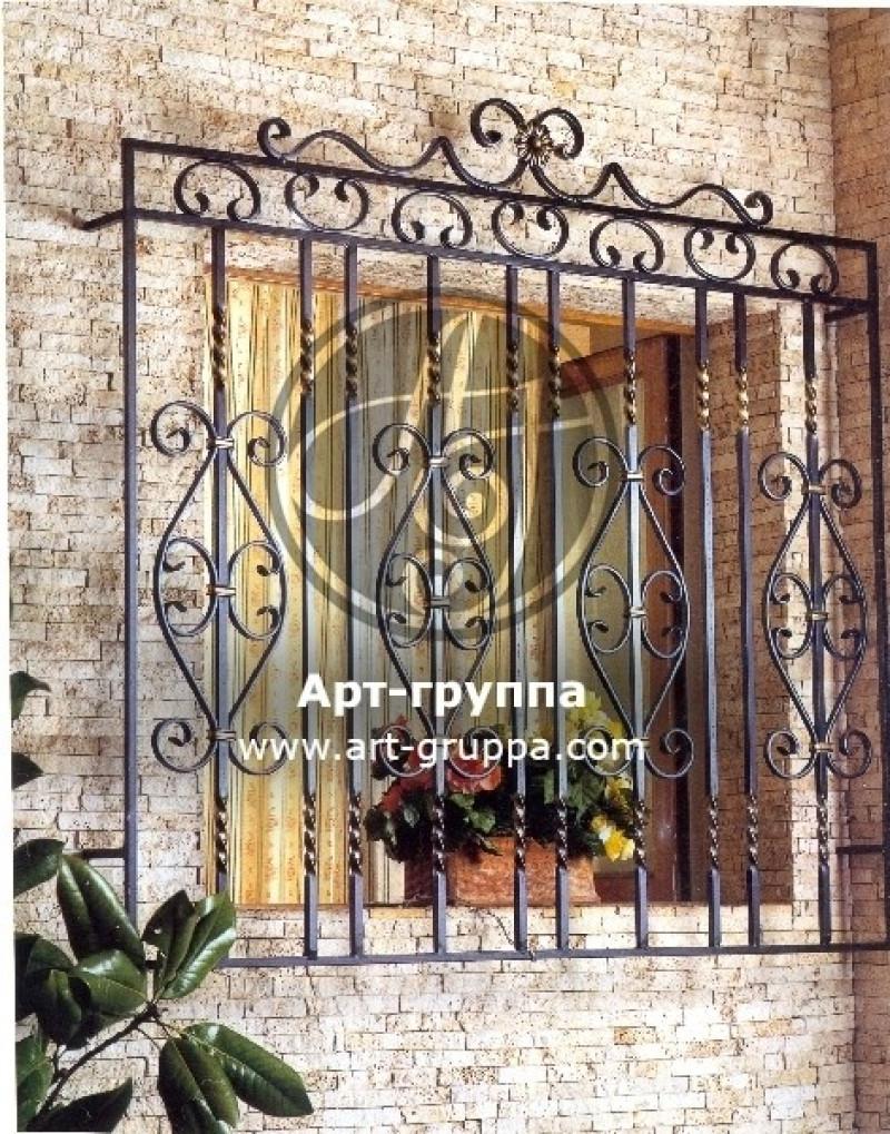 купить Решетка на окно - изделие: 0814