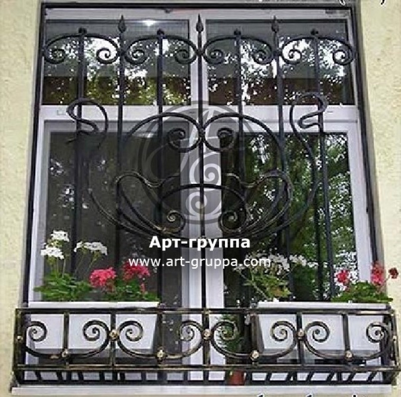 купить Решетка на окно - изделие: 0819