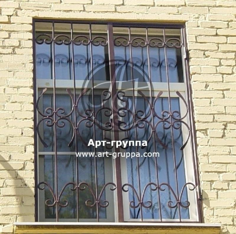 купить Решетка на окно - изделие: 0821