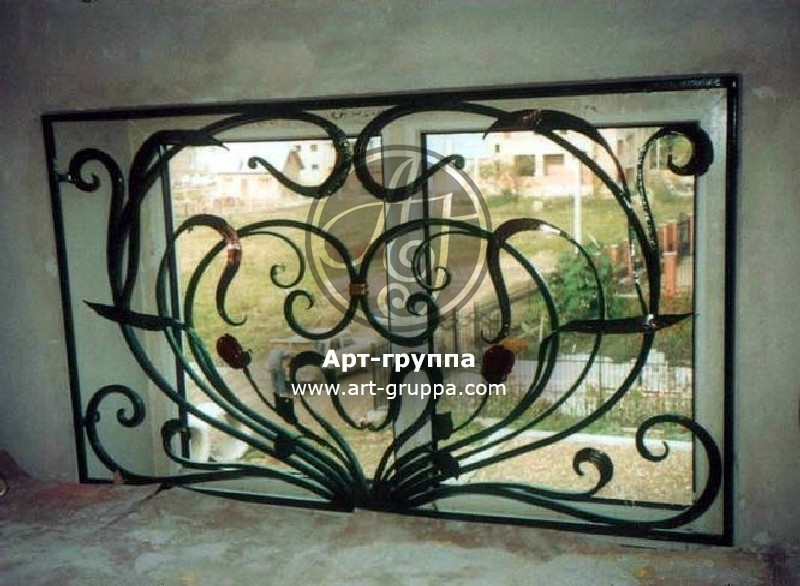 купить Решетка на окно - изделие: 0822