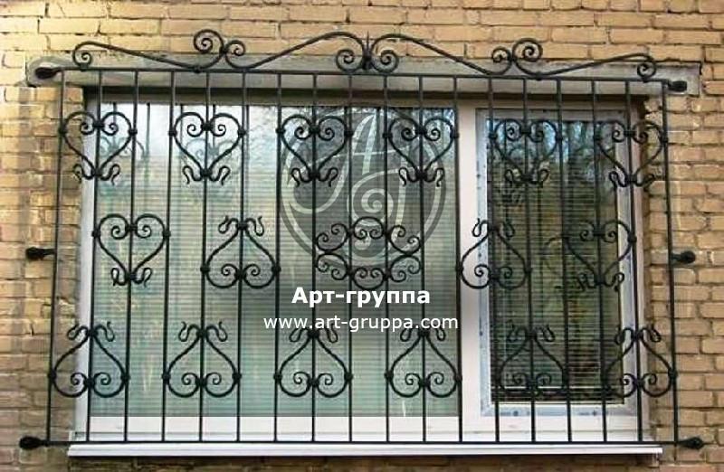 купить Решетка на окно - изделие: 0825
