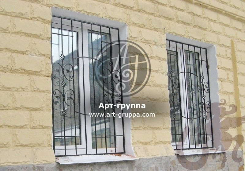 купить Решетка на окно - изделие: 0837