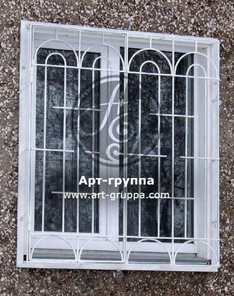 купить Решетка на окно - изделие: 0838