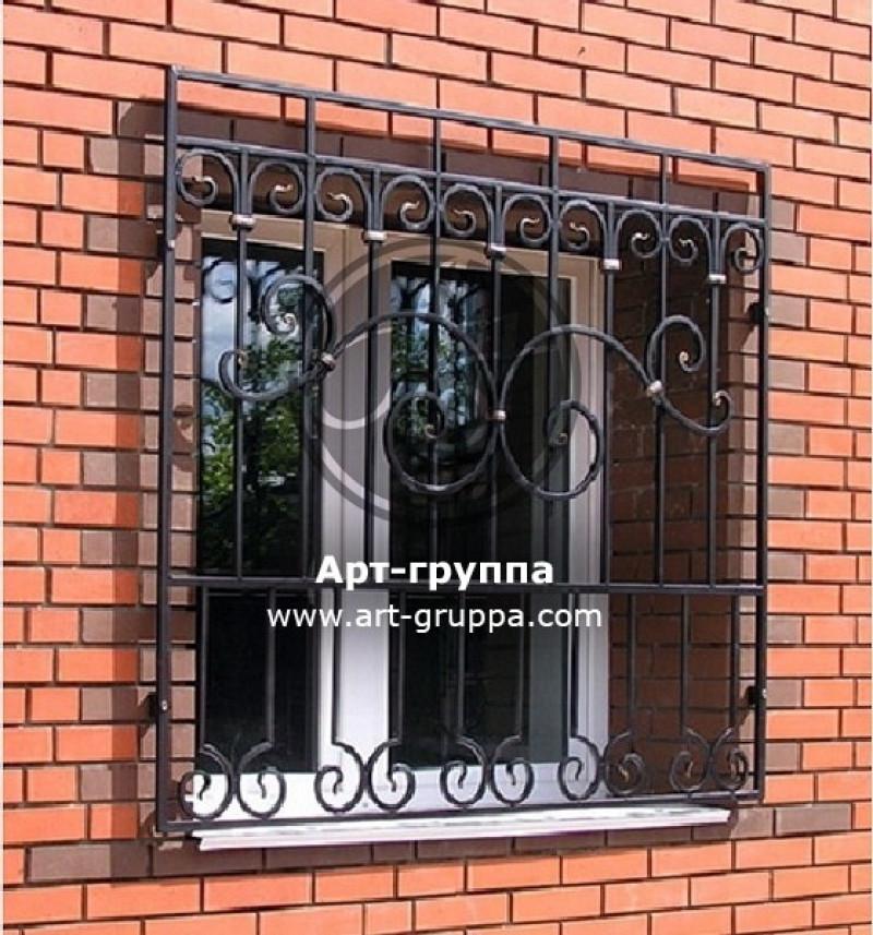 купить Решетка на окно - изделие: 0844