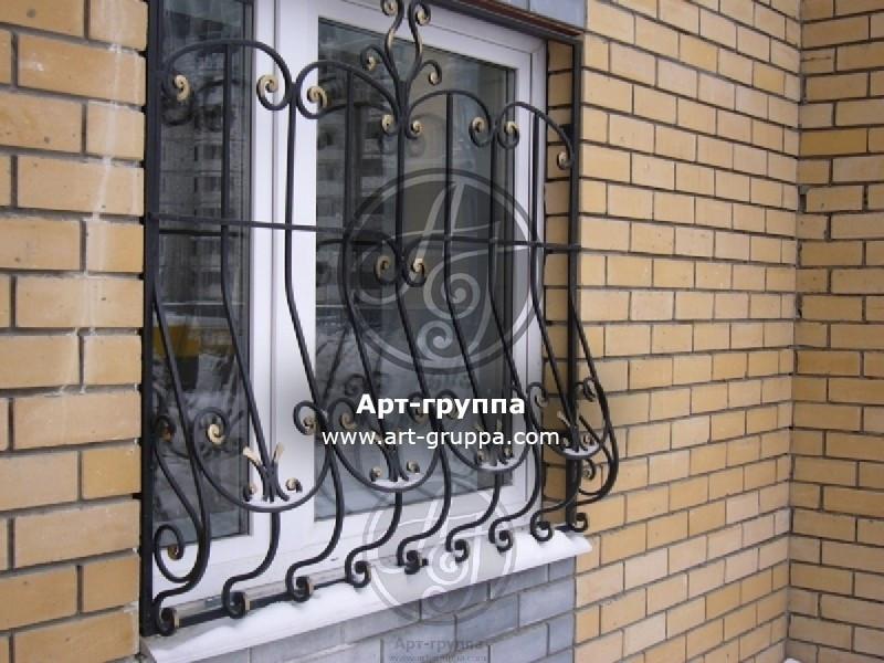 купить Решетка на окно - изделие: 0855