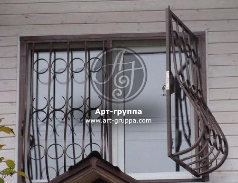 купить Решетка на окно - изделие: 0872