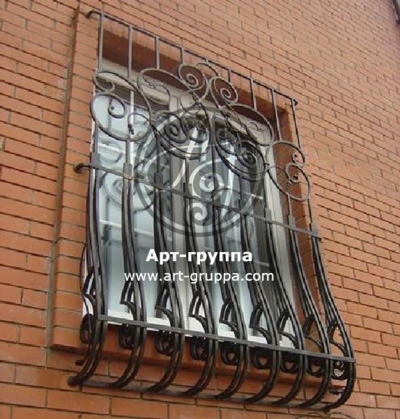 купить Решетка на окно - изделие: 0875