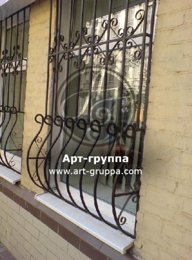 купить Решетка кованая на окно - изделие: 1057