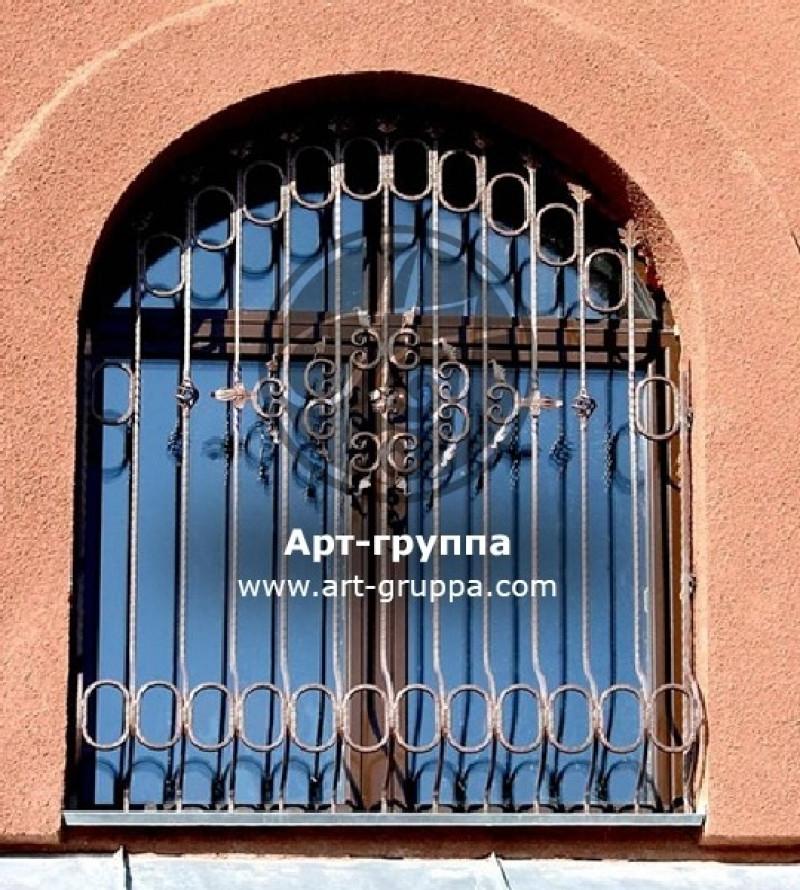 купить Решетка кованая на окно - изделие: 1062