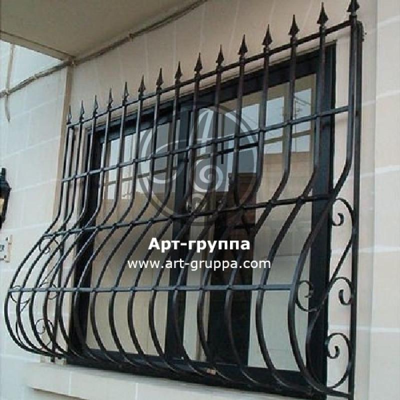 купить Решетка кованая на окно - изделие: 1064