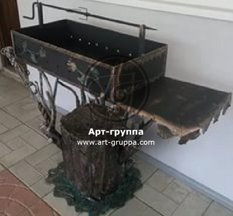 купить Мангал кованый - изделие: 1099