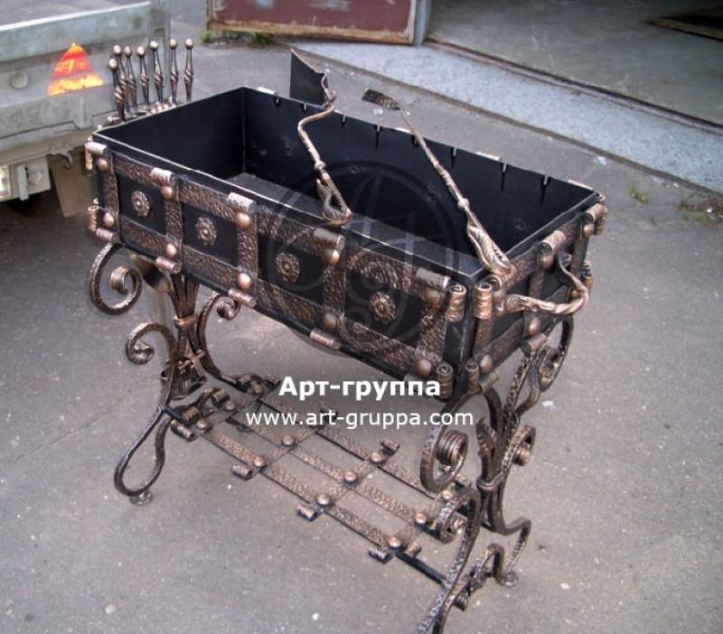 купить Мангал кованый - изделие: 1106