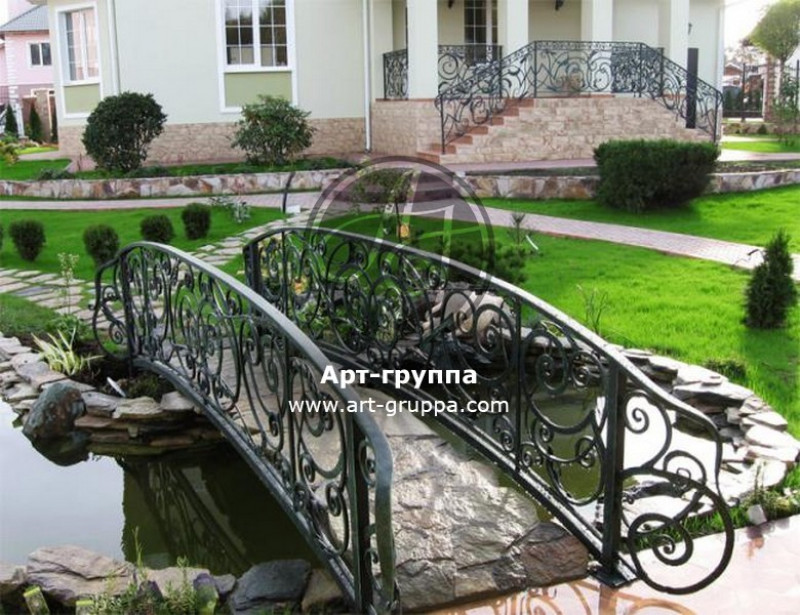 купить Мост кованый - изделие: 1191