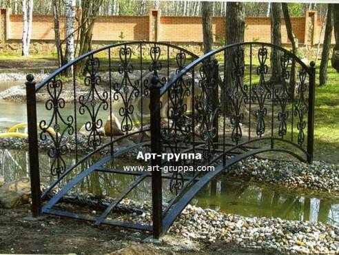 купить Мост кованый - изделие: 1194