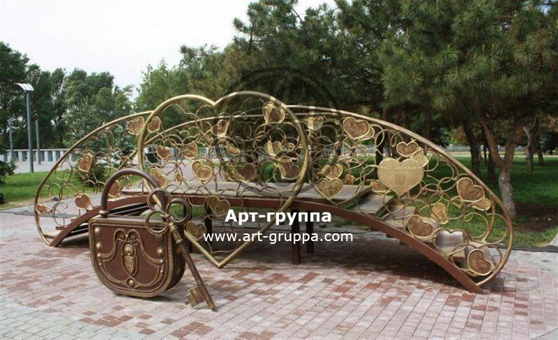 купить Мост кованый - изделие: 1198