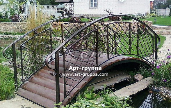 купить Мост кованый - изделие: 1199