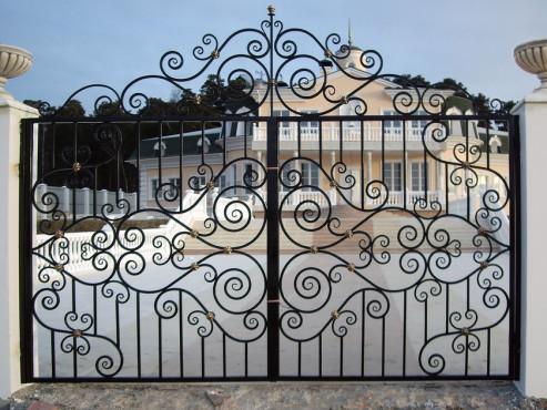 купить Ворота кованые - изделие 5002