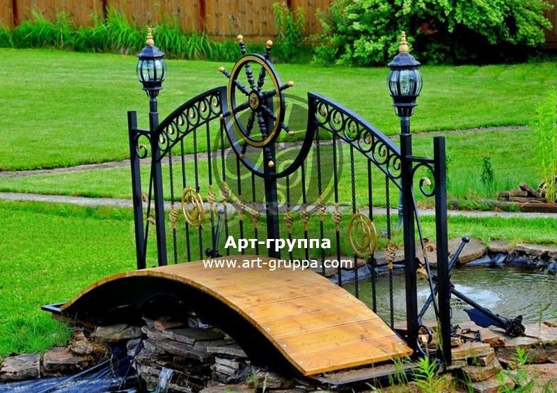 купить Мост кованый - изделие: 1202