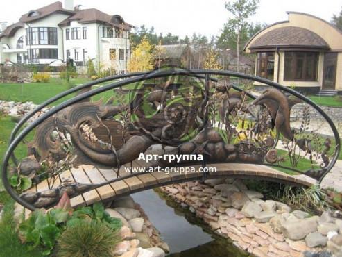 купить Мост кованый - изделие: 1204