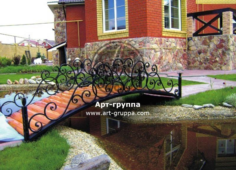 купить Мост кованый - изделие: 1205