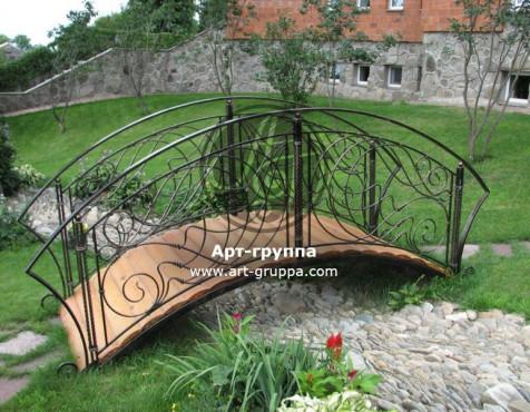 купить Мост кованый - изделие: 1207