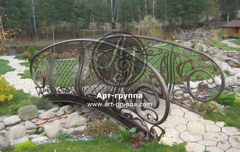 купить Мост кованый - изделие: 1208